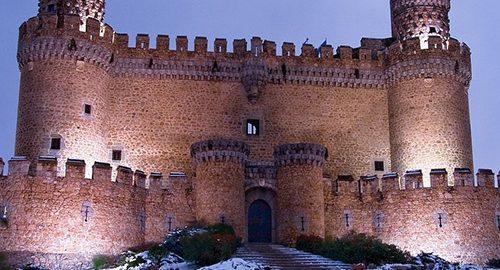 زیباترین قلعه های مادرید
