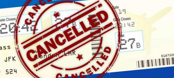 قوانین تغییر و کنسلی بلیت هواپیما