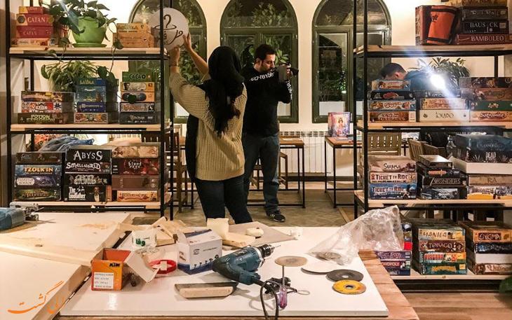 کافه بازی های ایران