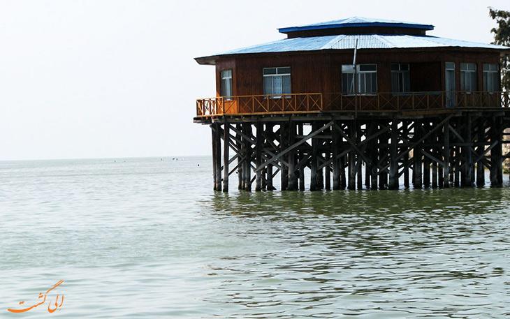 جزیره آشوراده تنها جزیره ایرانی دریای خزر