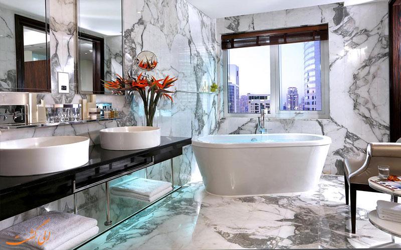 انواع امکانات حمام-هتل بونینگتون دبی