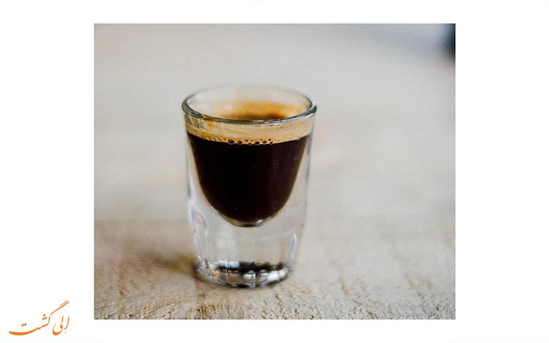 فرآیند دم کردن قهوه ی اسپرسو