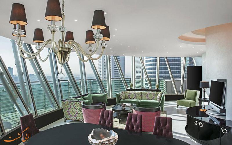 رستوران و کافه های هتل حیات سنتریک لونت استانبول