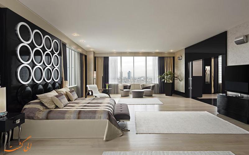 امکانات اتاق های هتل حیات سنتریک لونت استانبول