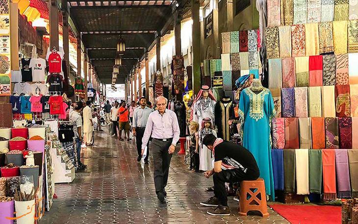 بازار پارچه دبی-نکات سفر به دبی