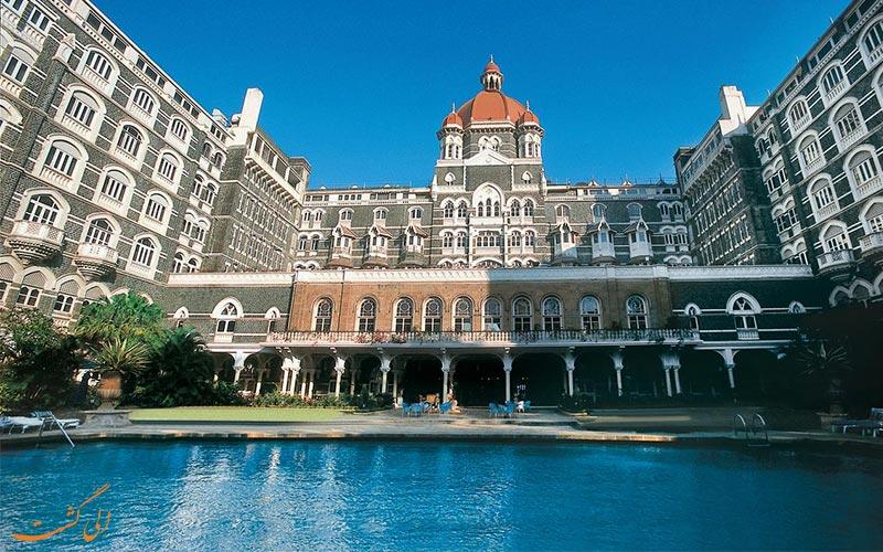 هتل تاج محل پالاس بمبئی و بهترین هتل های 5 ستاره بمبئی