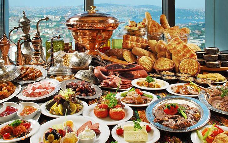 رستوران های تکسیم استانبول