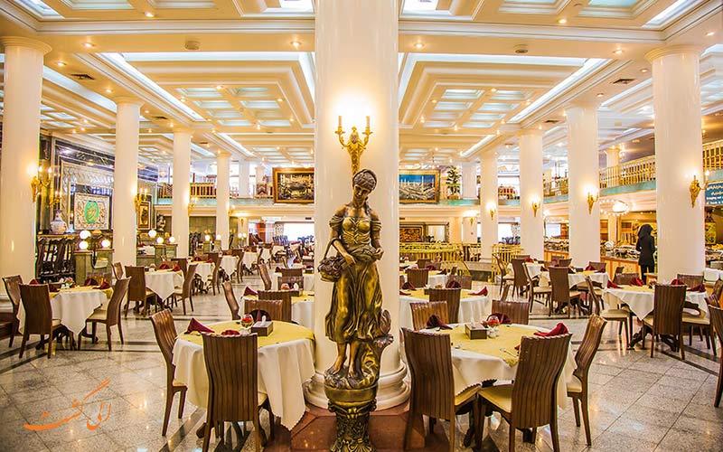 تور مشهد هتل بین المللی قصر طلایی