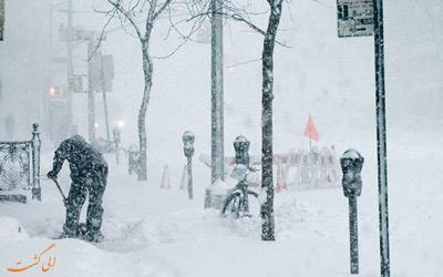 گردباد قطبی در کانادا و آمریکا