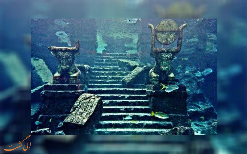 شهر گمشده دوارکا هند-دریا