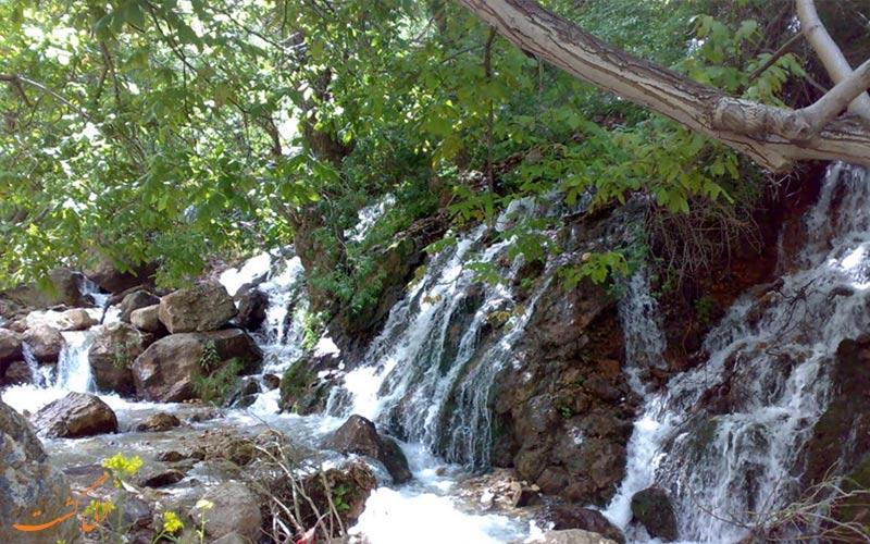 آبشار-بار-جاذبه های نیشابور