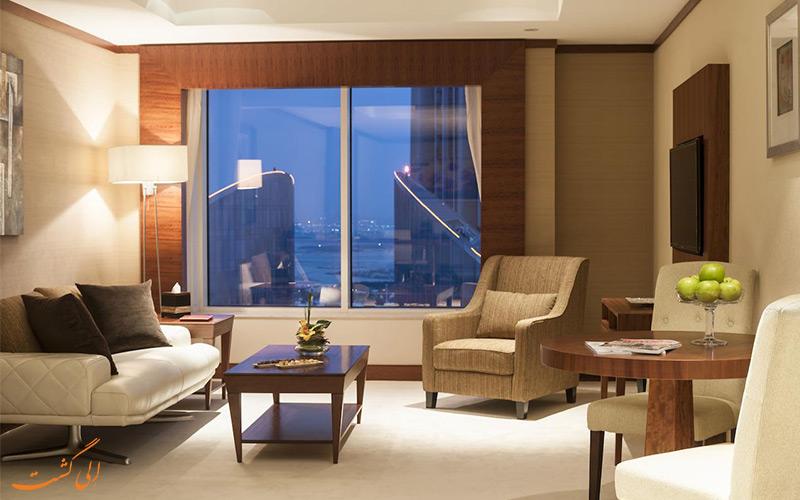 اتاق هتل کارلتون داون تاون دبی