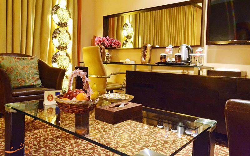 از اتاق های هتل دوروس دبی