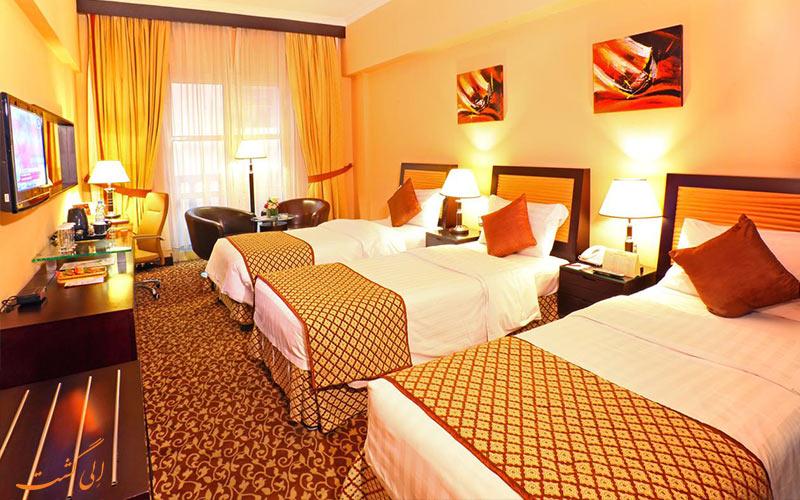 امکانات اتاق هتل دوروس دبی