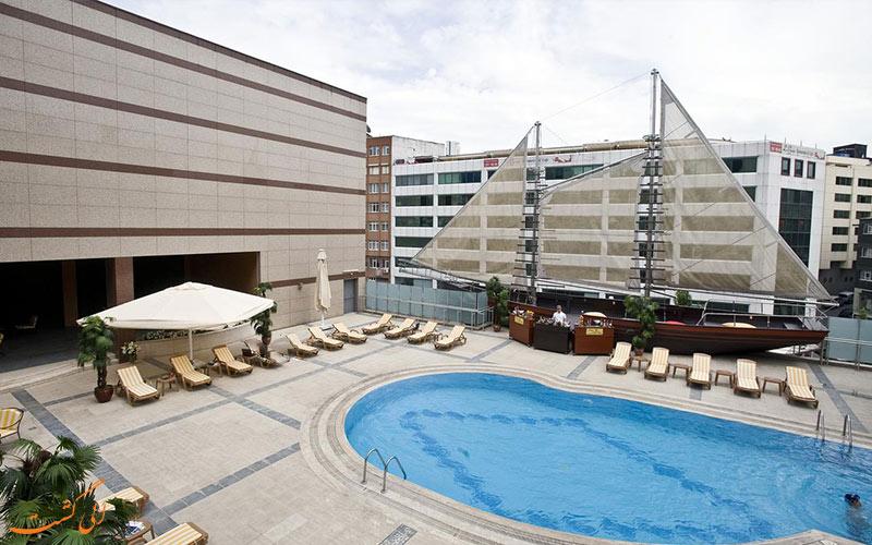 امکانات تفریحی هتل گرند جواهر استانبول