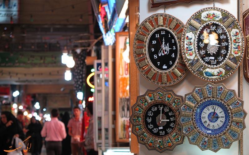 انواع مغازه ها در بازار رضا مشهد