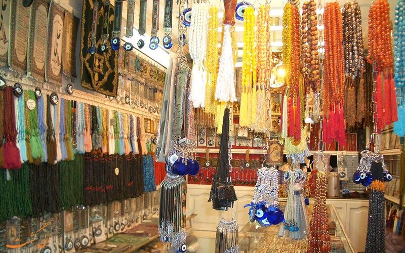 بازار رضا مشهد-مغازه تسبیح