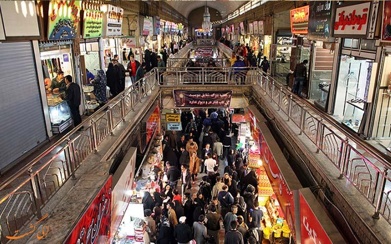 بازار رضا مشهد و مغازه های آن