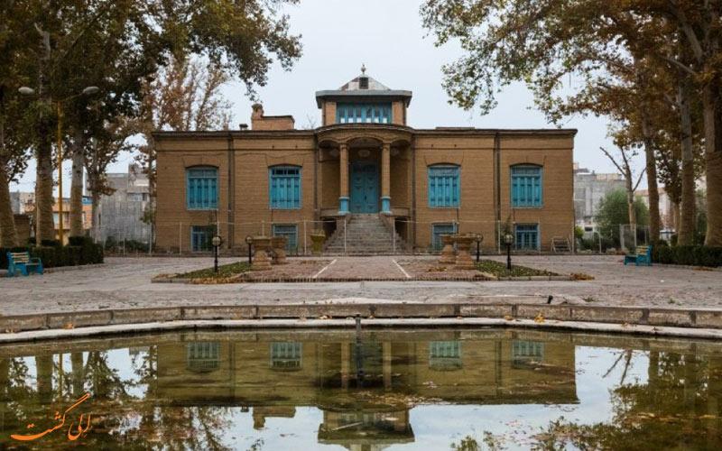 باغ و عمارت امین الاسلامی-جاذبه های نیشابور