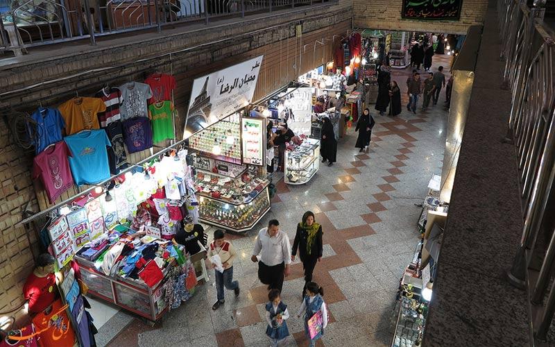 دالان های بازار رضا مشهد