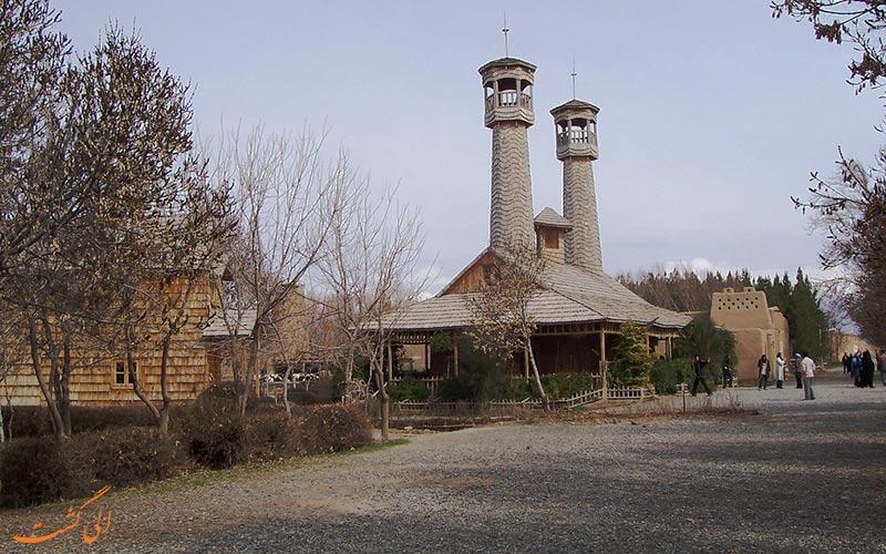 دهکده-چوبی-جاذبه های نیشابور