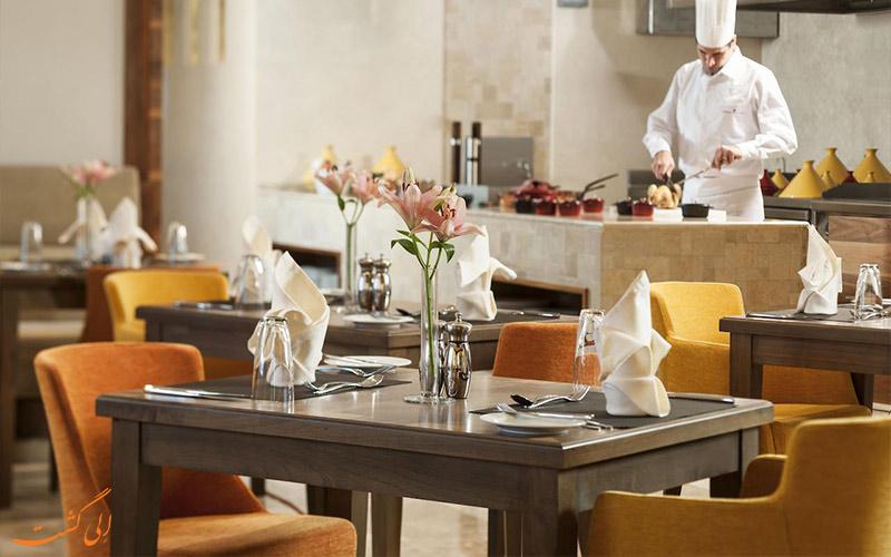 رستوران هتل کارلتون داون تاون دبی
