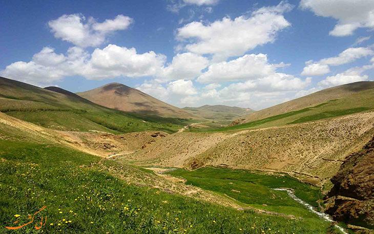 روستای لیقوان در تبریز 1