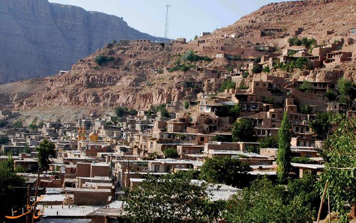 روستای پلکانی اسفیدان
