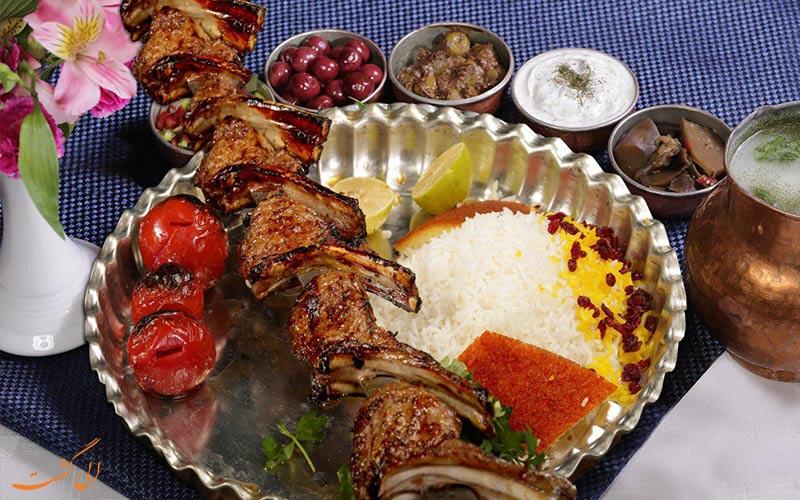 غذای رستوران سید و پسران در طرقبه مشهد