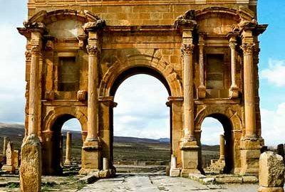شهر باستانی تیمگاد در الجزیره