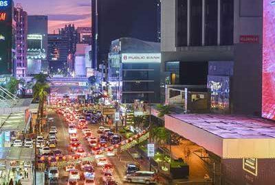 منطقه بوکیت بینتانگ کوالالامپور-الی گشت