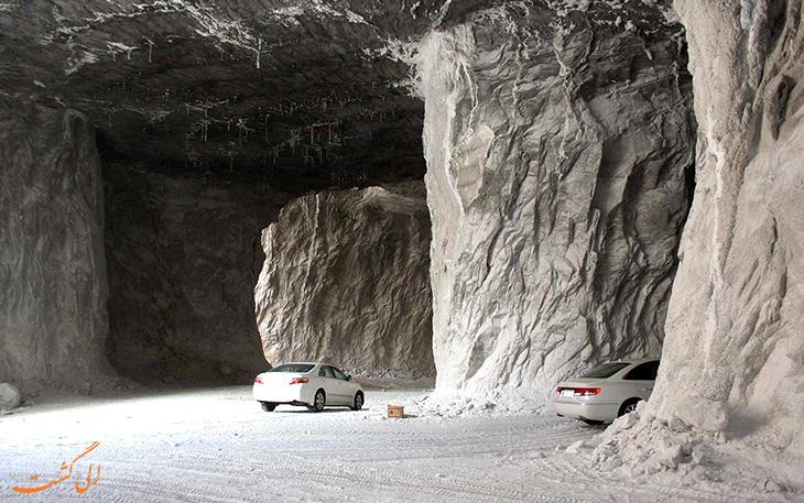 غار نمکی