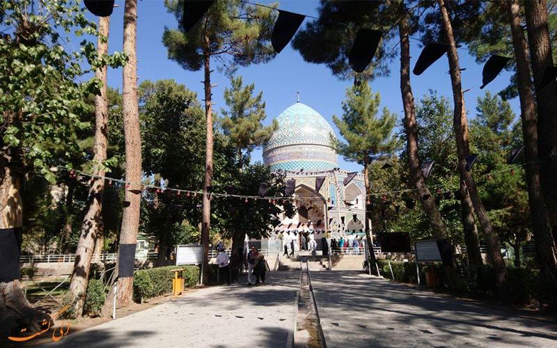 قدمگاه-جاذبه های جاده تهران به مشهد
