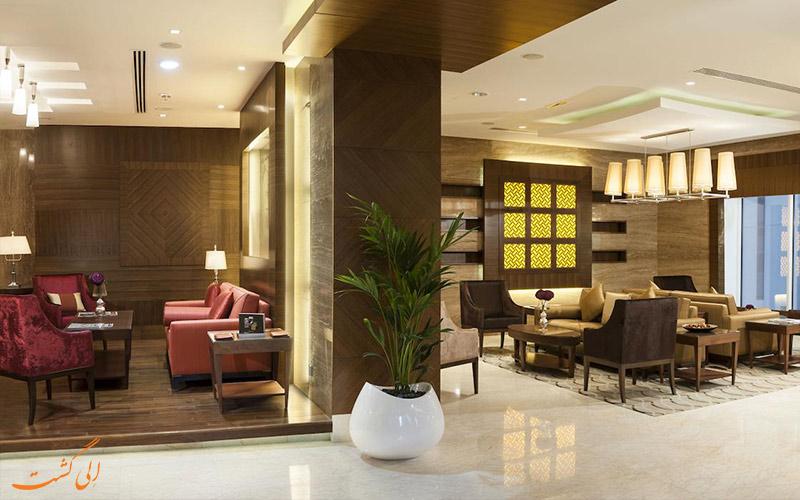لابی هتل کارلتون داون تاون دبی