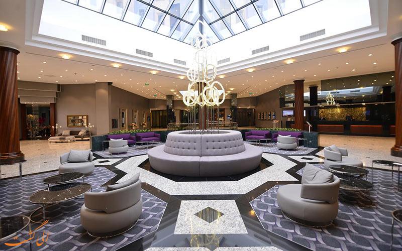 لابی هتل گرند جواهر استانبول