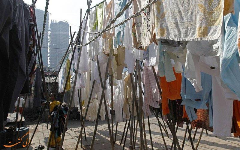 لباس های خشک شده-رختشویخانه بمبئی دوبی گات