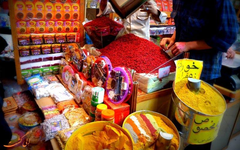مغازه های ادویه-بازار رضا مشهد
