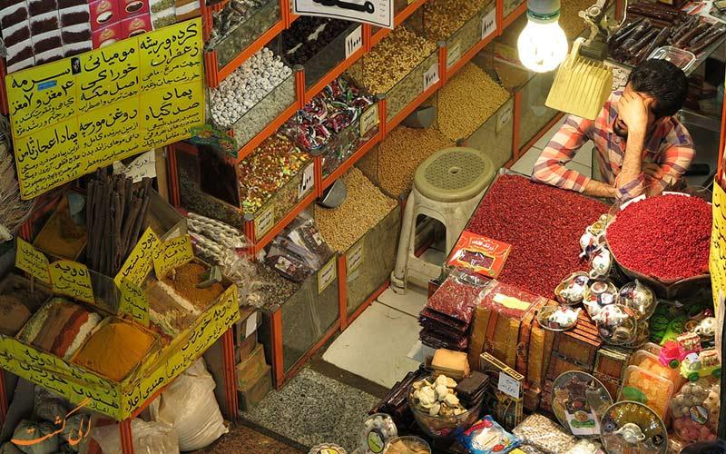 مغازه های طبقه همکف-بازار رضا مشهد