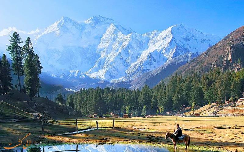 کوه نانگا پاربات و منظره پاکستان