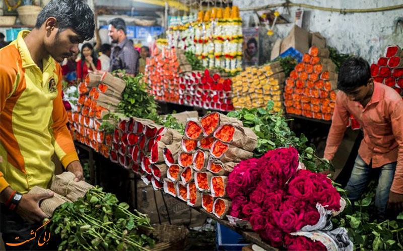 نکاتی برای تماشای بازار-بازار گل دادار بمبئی