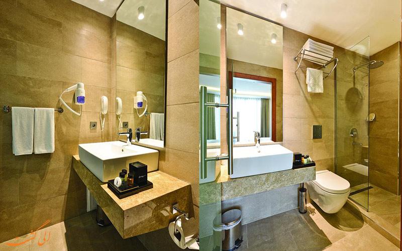 هتل بلووی سیتی استانبول-حمام ها