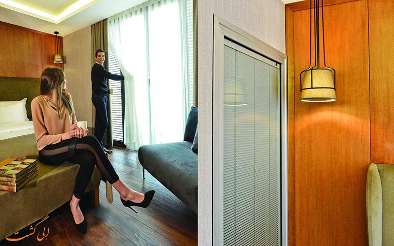 هتل بلووی سیتی استانبول و فاصله تا جاذبه های استانبول