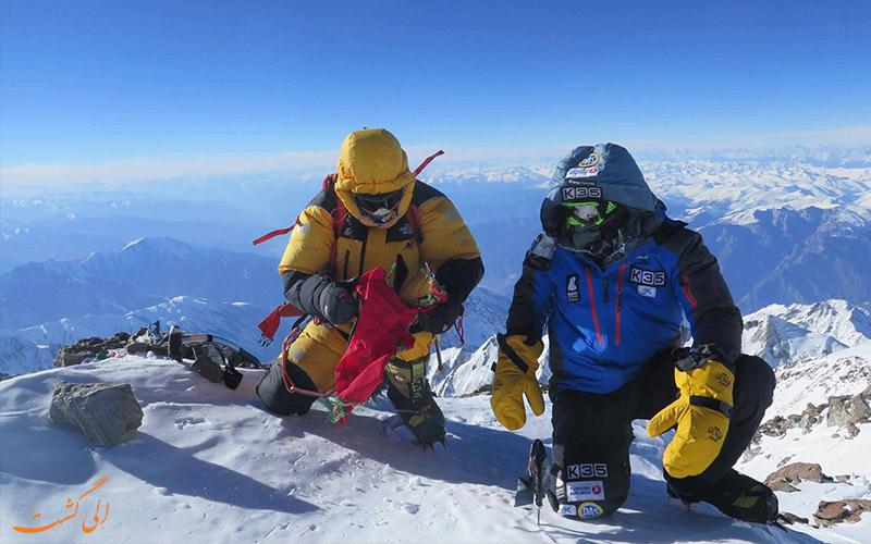 گروه های صعود کننده-کوه نانگا پاربات