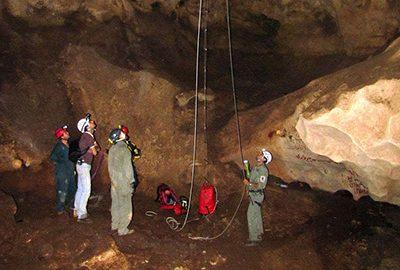 غار قلعه کرد در قزوین