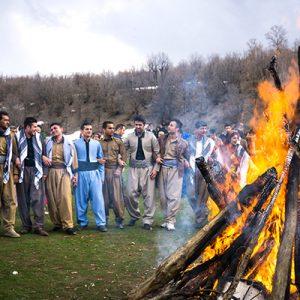فرهنگ چهارشنبه سوری کردستان