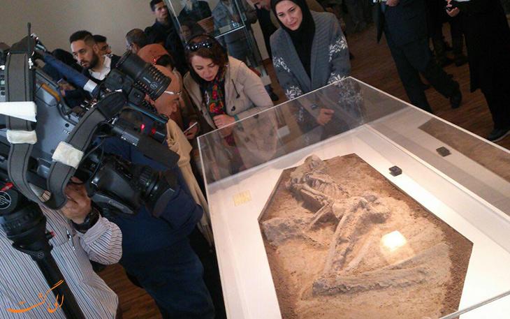 نمایشگاه کشفیات باستان شناسی در طول چهار دهه