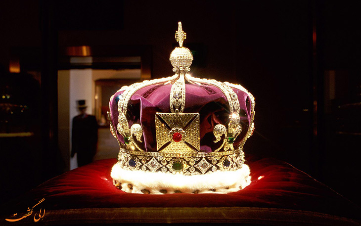 جواهرات ملکه انگلستان