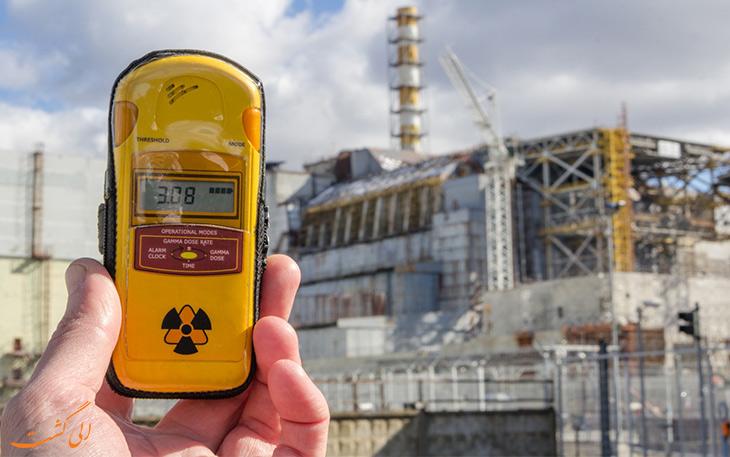 میزان رادیواکتیو در نزدیکی نیروگاه کم است