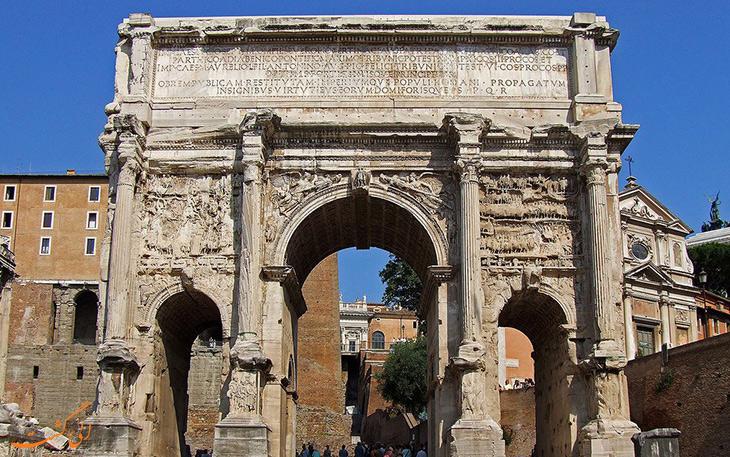 طاق سپتیمیوس سوروس در روم