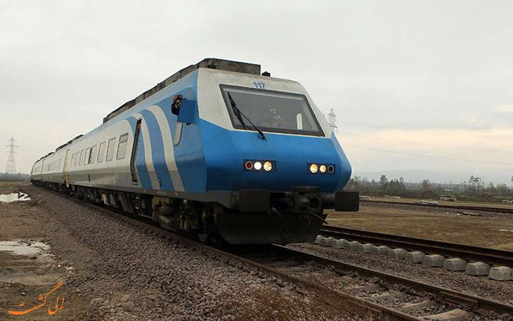 قطار قزوین به رشت